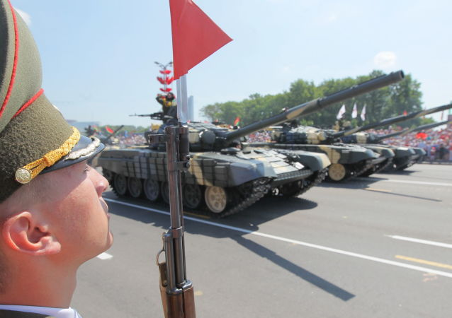 白俄罗斯不打算取消胜利日阅兵式