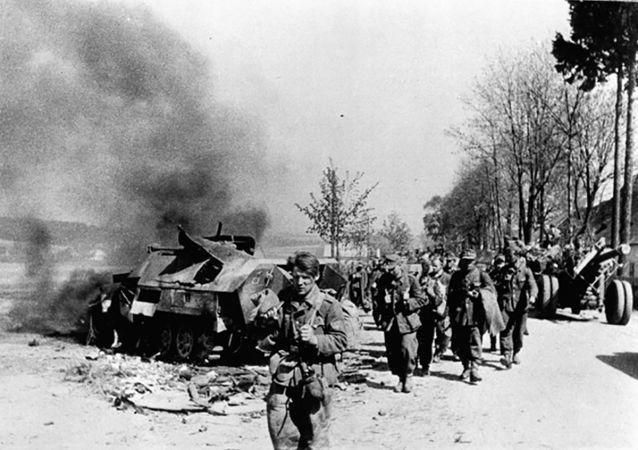 普京:俄罗斯将铭记反希特勒联盟的盟友在粉碎纳粹主义中的贡献