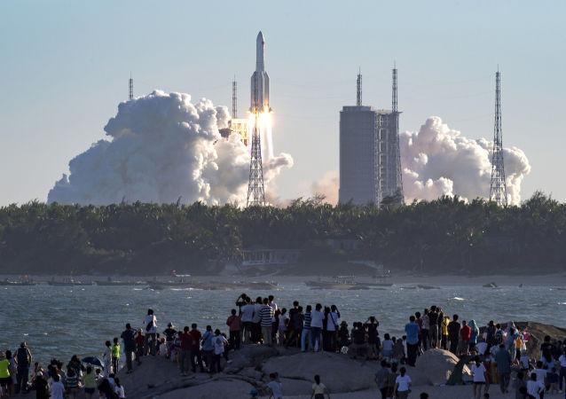 外媒:中国计划扩大航天商业发射次数