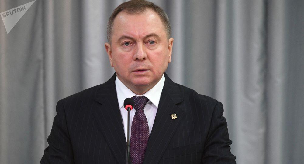 白俄罗斯外交部长马克伊