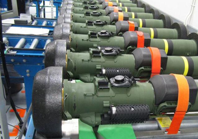 """美军""""标枪""""反坦克导弹推出新版本"""