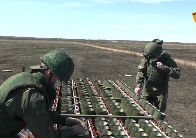 阿穆尔州炮兵测试新型礼炮
