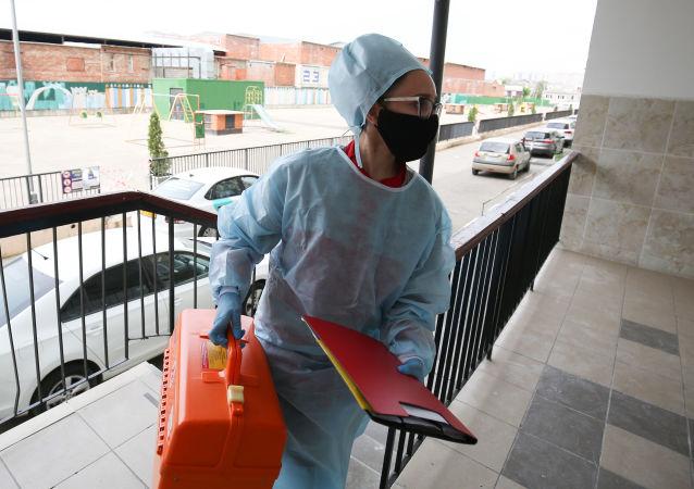 普京:因疫情采取的限制措施何时开始解除还很难讲