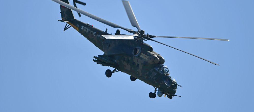 米-35直升机