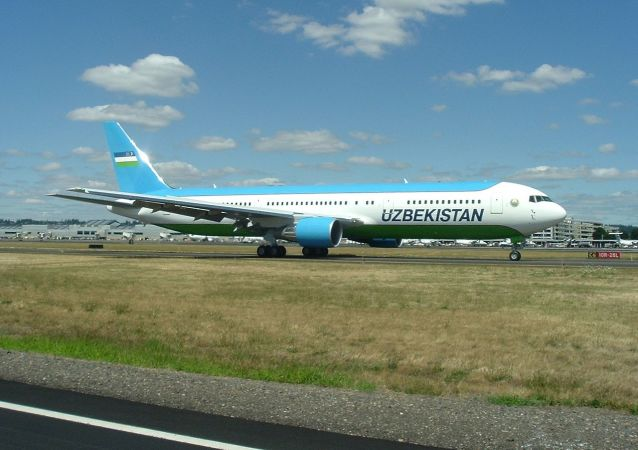 乌兹别克斯坦航空公司的波音-767-300ER