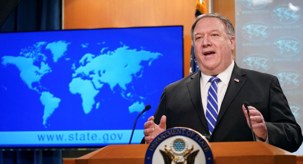俄媒:蓬佩奥称中国或因拒绝亲西方政策而重蹈苏联覆辙