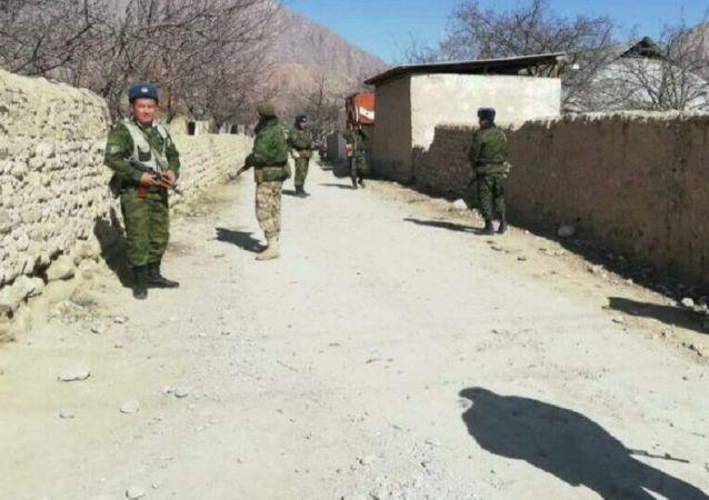 塔吉克斯坦外交部向吉国递交抗议照会