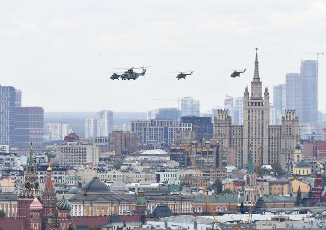 胜利日,莫斯科,空军阅兵
