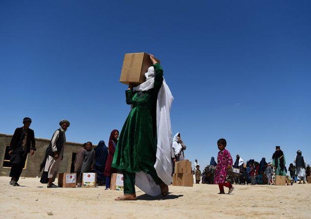 阿富汗有四人在针对食物分配的抗议活动中身亡
