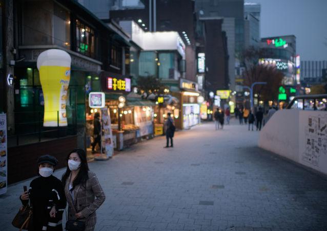 韩国三季度GDP同比下降1.3%