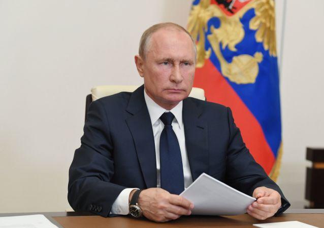 普京:俄罗斯应在医学和生态方面开发出一套完整的基因技术