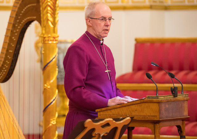 坎特伯雷大主教贾斯汀·韦尔比