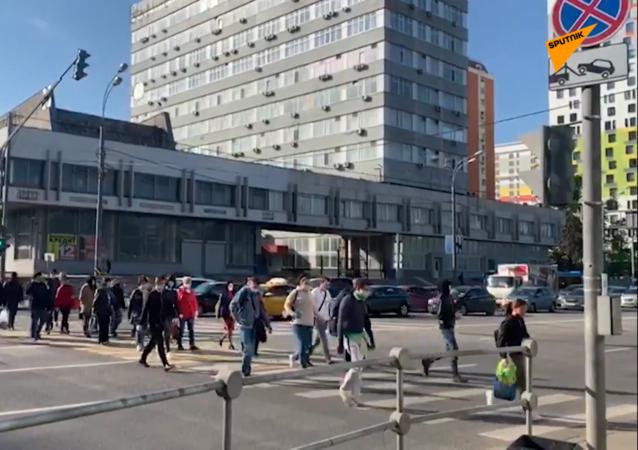莫斯科要求所有人戴口罩