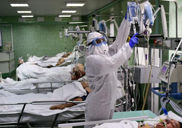 彭博社修改关于俄新冠病毒致死率文章的题目 此前遭俄外交部批评