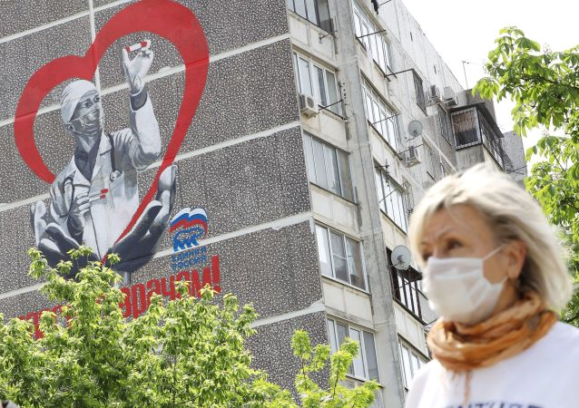 俄罗斯已解决口罩问题 6月份的产量可达每天110万只