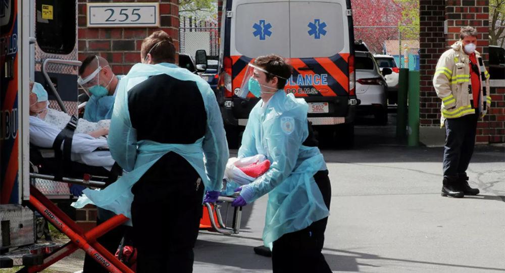 美国单日新增近4.5万例新冠病毒确诊病例