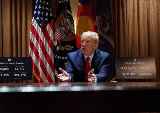 特朗普称对中国很失望