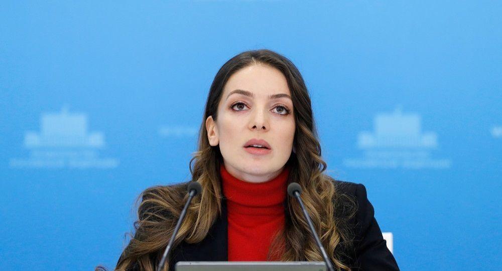 俄罗斯联邦旅游署署长扎林娜•多古佐娃