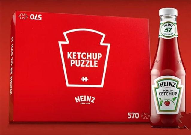 世界上最无聊的拼图:亨氏公司逗笑网友