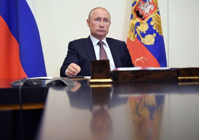 普京称俄罗斯为独立的文明