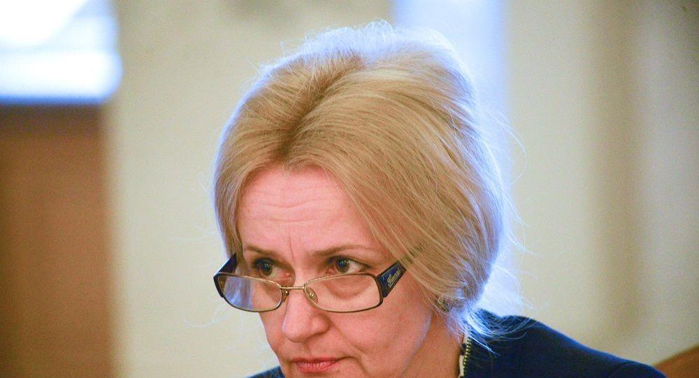 乌克兰最高拉达前议员伊琳娜•法里奥