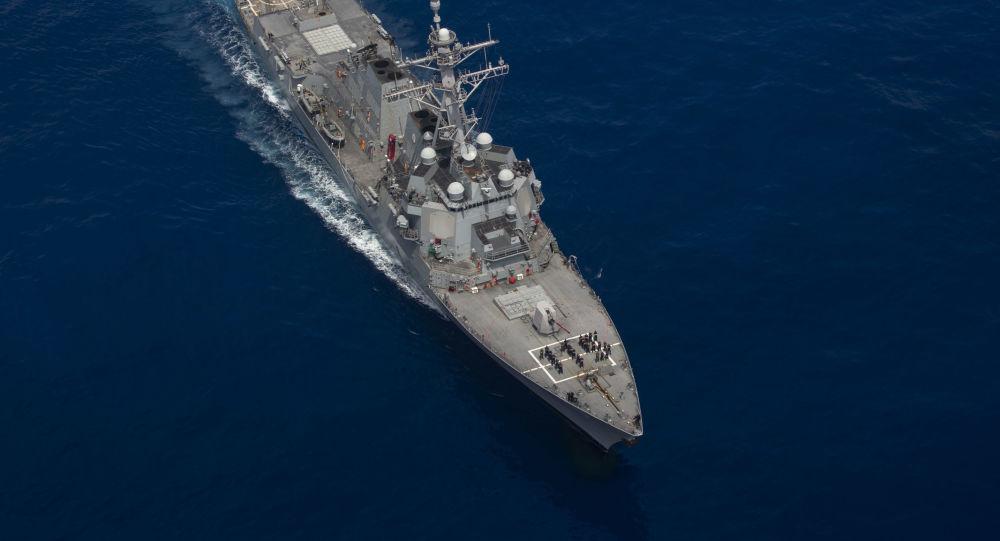 美国海军将其最新驱逐舰派驻到日本