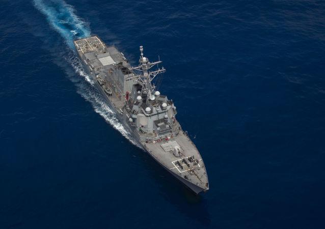 """美国导弹驱逐舰""""拉斐尔·佩拉尔塔""""号(USS Rafael Peralta)"""