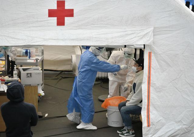 首尔新冠肺炎检测