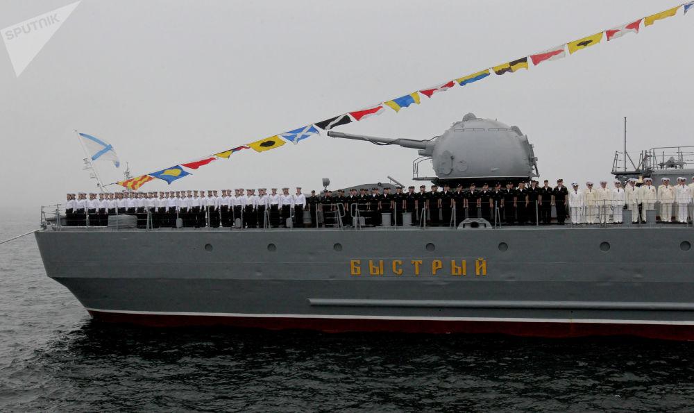俄罗斯太平洋舰队舰船潜艇