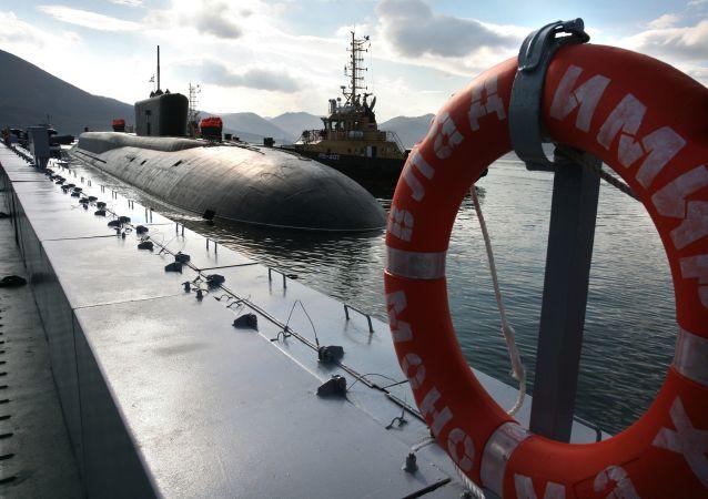 """俄太平洋舰队因台风""""海神""""加强安全措施"""