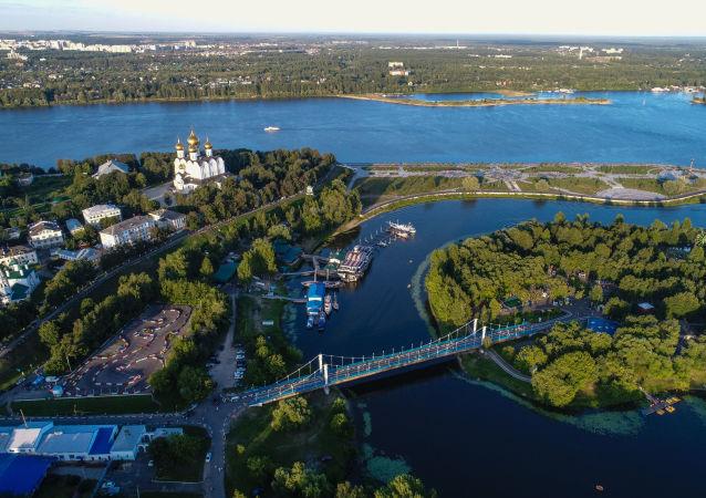 俄罗斯母亲河—伏尔加河