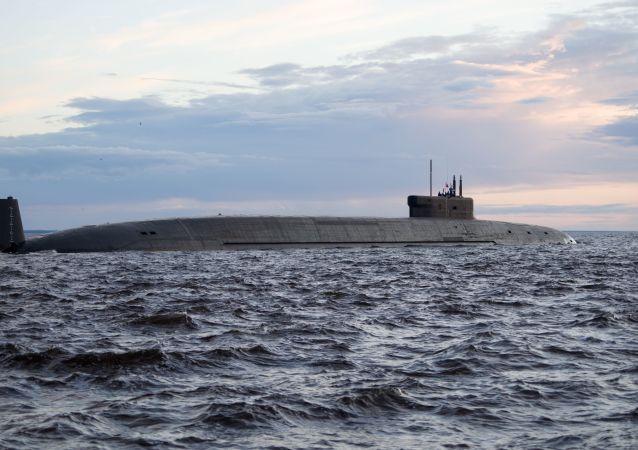 """战略核潜艇""""弗拉基米尔大公""""号"""