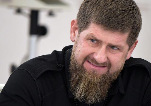 车臣领导人拉马赞•卡德罗夫