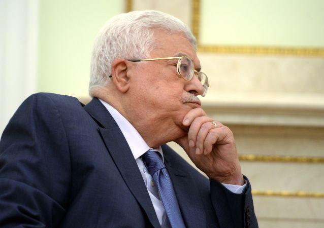 巴勒斯坦民族权力机构主席阿巴斯