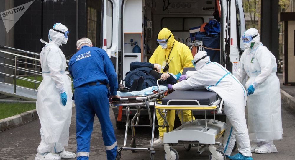 俄罗斯新增新冠病毒感染病例8946例,累计达353427例