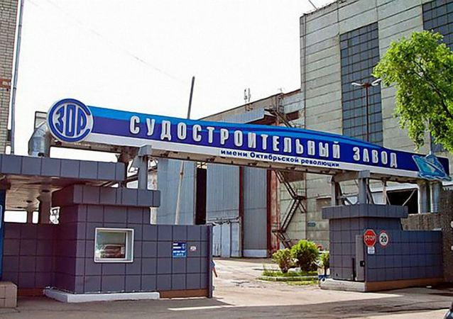 俄东部军区核生化专家给布拉戈维申斯克造船厂消毒