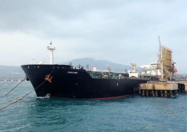 伊朗油轮在委内瑞拉