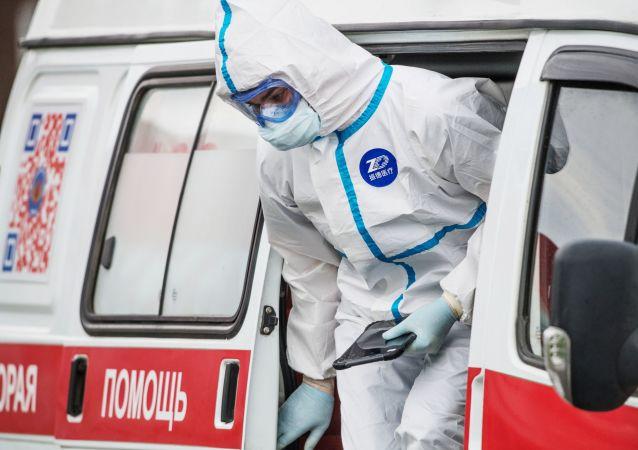 俄防疫指挥部:俄新增9268例新冠病毒感染病例 累计病例超40万例