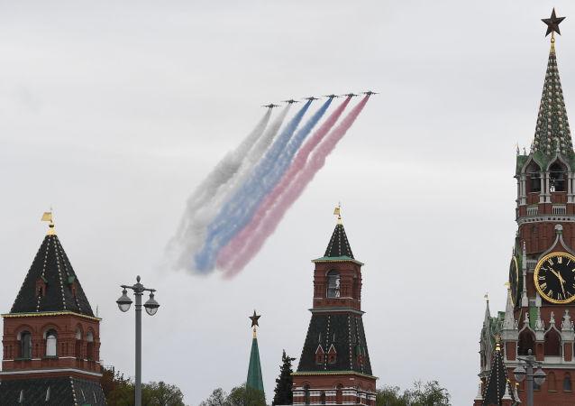 莫斯科胜利日阅兵式的准备工作正在按计划进行,已采取所有必要的安全措施