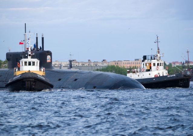 """""""弗拉基米尔大公""""号核潜艇"""