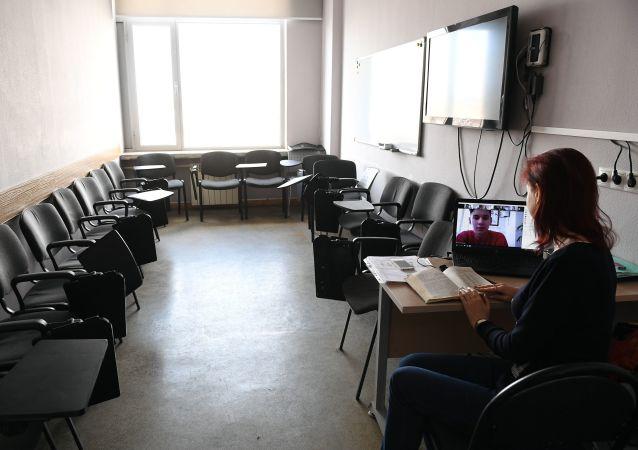 俄罗斯高校将对预科班中国学生进行在线教学