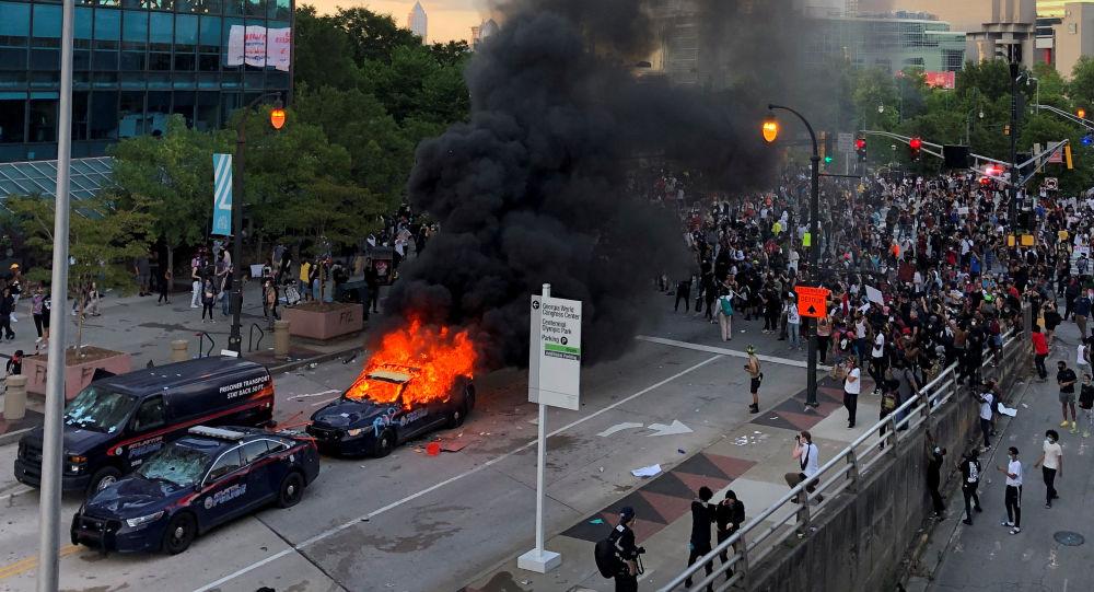 亚特兰大抗议活动(资料图片)