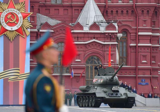 莫斯科阅兵