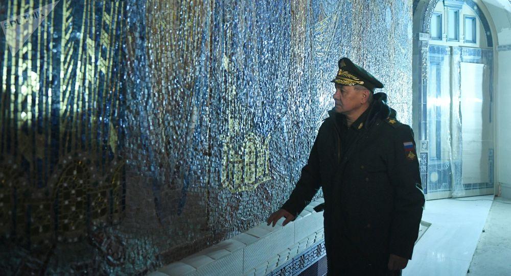 绍伊古:俄武装力量主教堂将于6月22日纪念与哀悼日开放