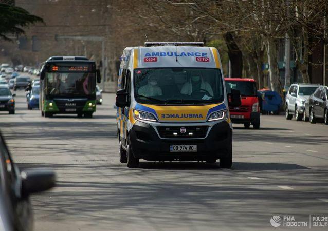 格鲁吉亚救护车