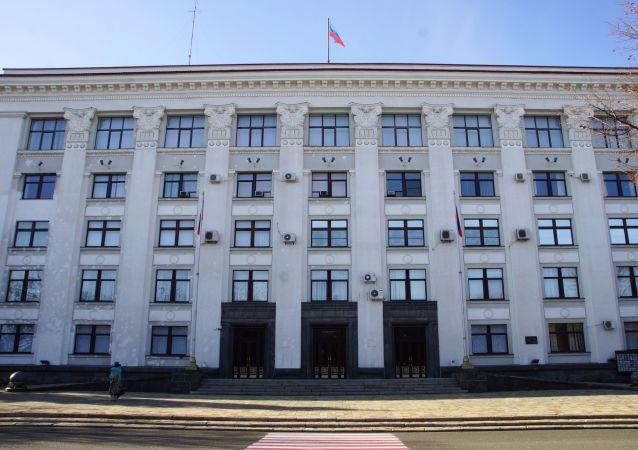 自行宣布成立的卢甘斯克人民共和国人民委员会