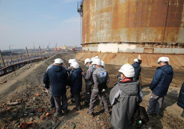 法院批准羁押涉燃油泄漏案的诺里尔斯克3号热电站总工程师