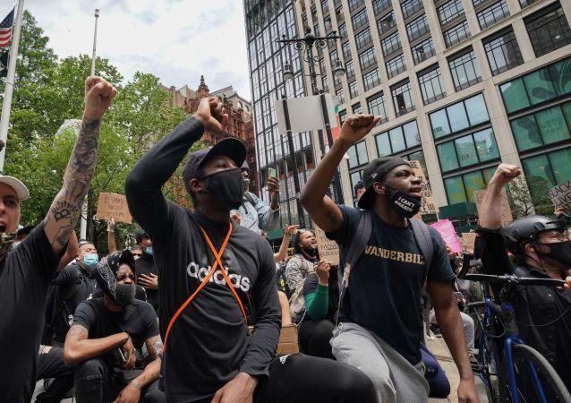 美国的大规模抗议活动