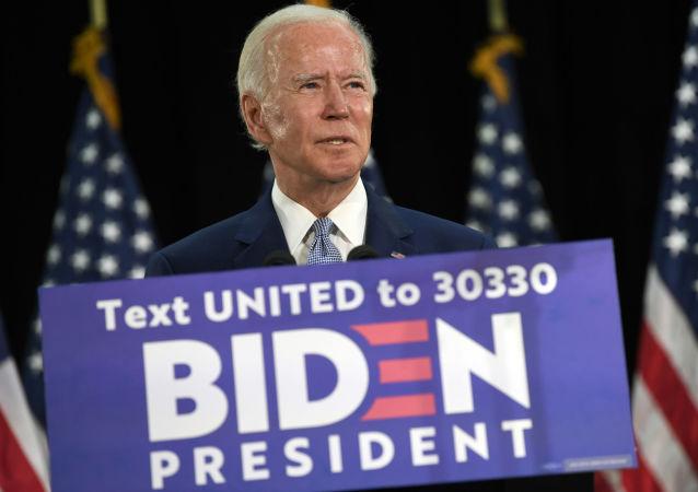 美国民主党总统候选人乔·拜登