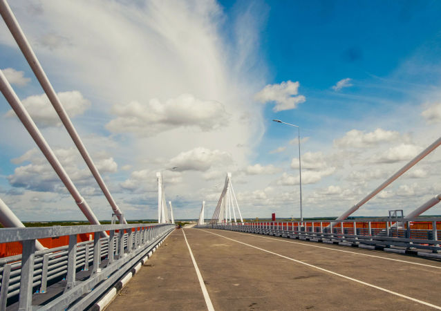 俄州长:阿穆尔州2021年将与中国一起决定轿车和货车沿跨阿穆尔河大桥通行的条件
